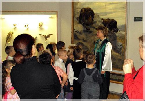 сочинение первое знакомство с музеем